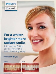 Zoom whitening poster